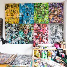 """Benedek Levente – """"Egy ötletből mindig készülhet egy egész kiállításnyi anyag"""""""